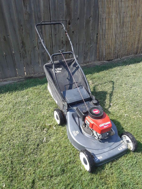 Craftsman Eager 1 lawn mower for Sale in Hanford, CA - OfferUp