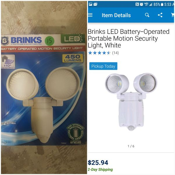 brinks led portable motion security light for sale in houston tx Brinks JCD Motion Detector Light open in the appcontinue to the mobile website