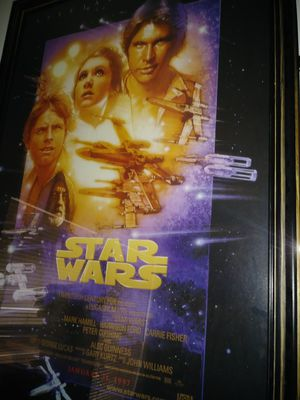 Star wars. Collectible poster for Sale in Salt Lake City, UT