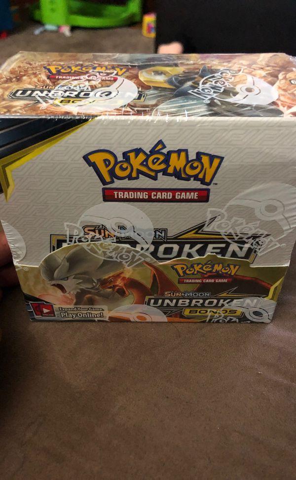 Unbroken Bonds Booster Box Pokémon
