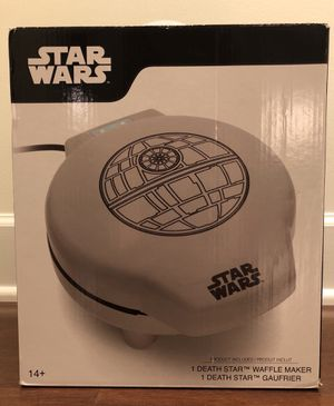 Star Wars Death Star Waffle Maker (Never used, still in box) for Sale in Washington, DC