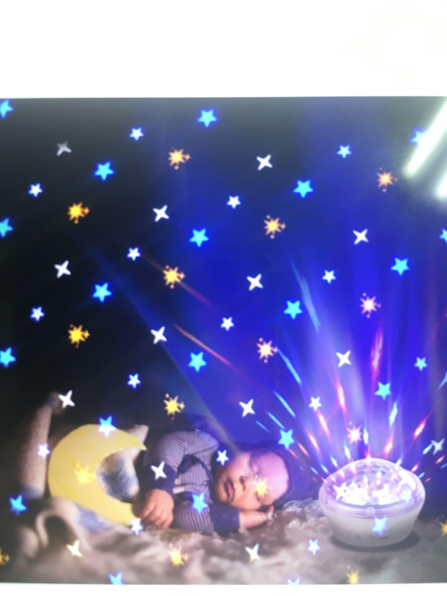 Night lights star projectors