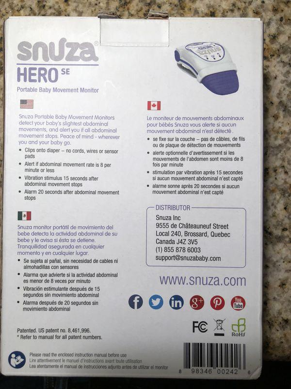Snuza Hero Baby Monitor For Sale In Whittier Ca Offerup