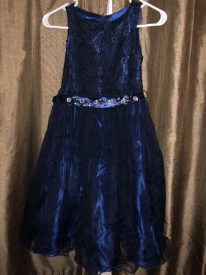 Beautiful Blue Kids Dress (9-10 yrs.) for Sale in Houston, TX