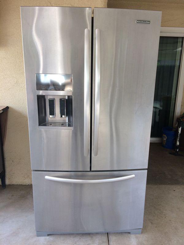 Kitchen Aid French Door Fridge Or Refrigerator For Sale In Fresno