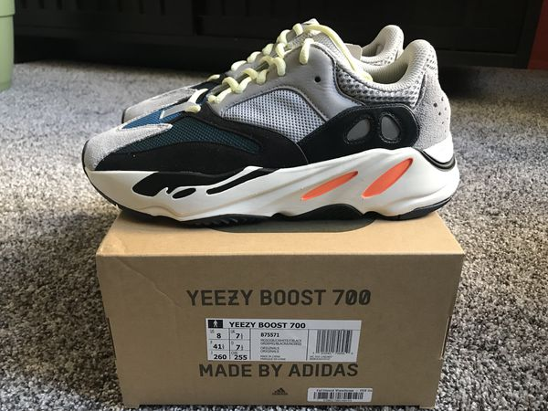 7b6bb1e5e1f4b Adidas Yeezy Boost Wave Runner 700 Size 8 for Sale in New York
