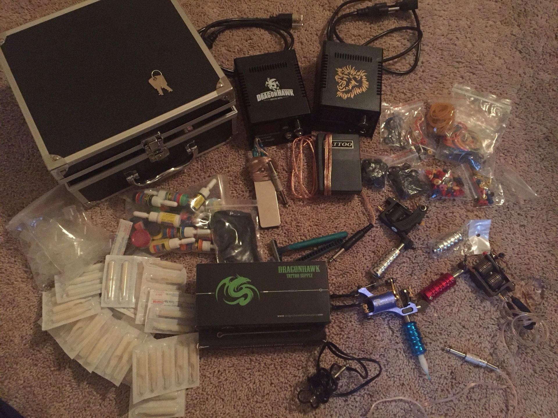 Tattoo machine complete kit