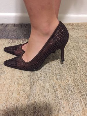 Gorgeous Nina sparkle mesh fabric shoes size 8 for Sale in Falls Church, VA