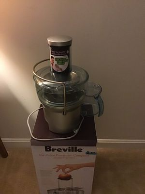 Breville Juicer for Sale in North Bethesda, MD