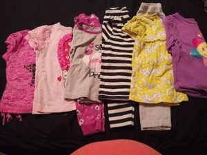 Baby girl winter clothes size 24 months for Sale in Kearneysville, WV