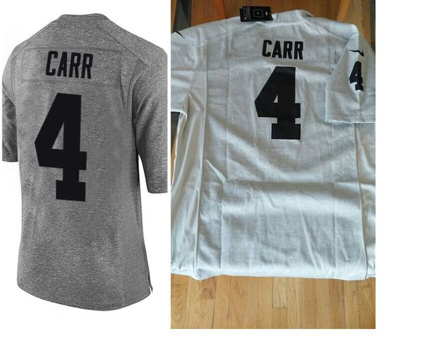 78ccc5870 Brand new stitched grey carr raiders jersey with tags for Sale in ...