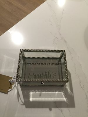 Nicole Miller Jewelry Box Beauteous Nicole Miller NEW Silver Jewelry Box Etched With The Word Love For