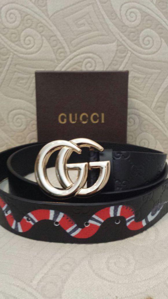 839fd547de5 Stylish black Gucci snake belt. for Sale in Delray Beach