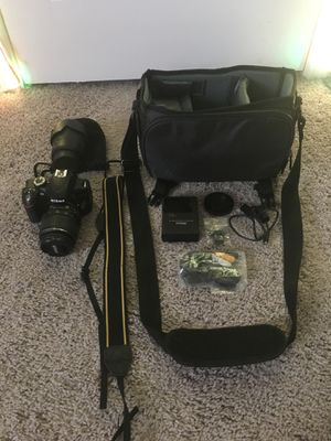 Nikon d3200 camera kit for Sale in Fair Oaks Ranch, TX