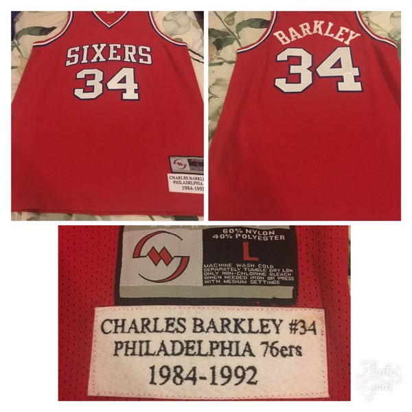 huge selection of 5e7d0 92f2e Authentic Charles Barkley jersey