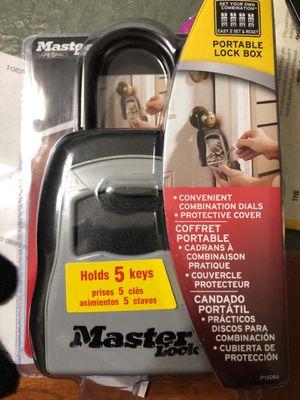 Master lock box for Sale in Arlington, VA