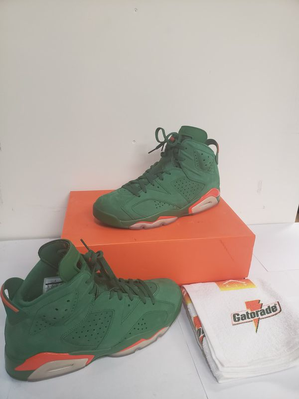 separation shoes 612ab d9b82 Air Jordan Retro 6 Gatorade Size 10 for Sale in Lakewood, CO - OfferUp