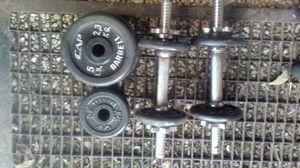 Cap 40lb barbell set for Sale in San Antonio, TX