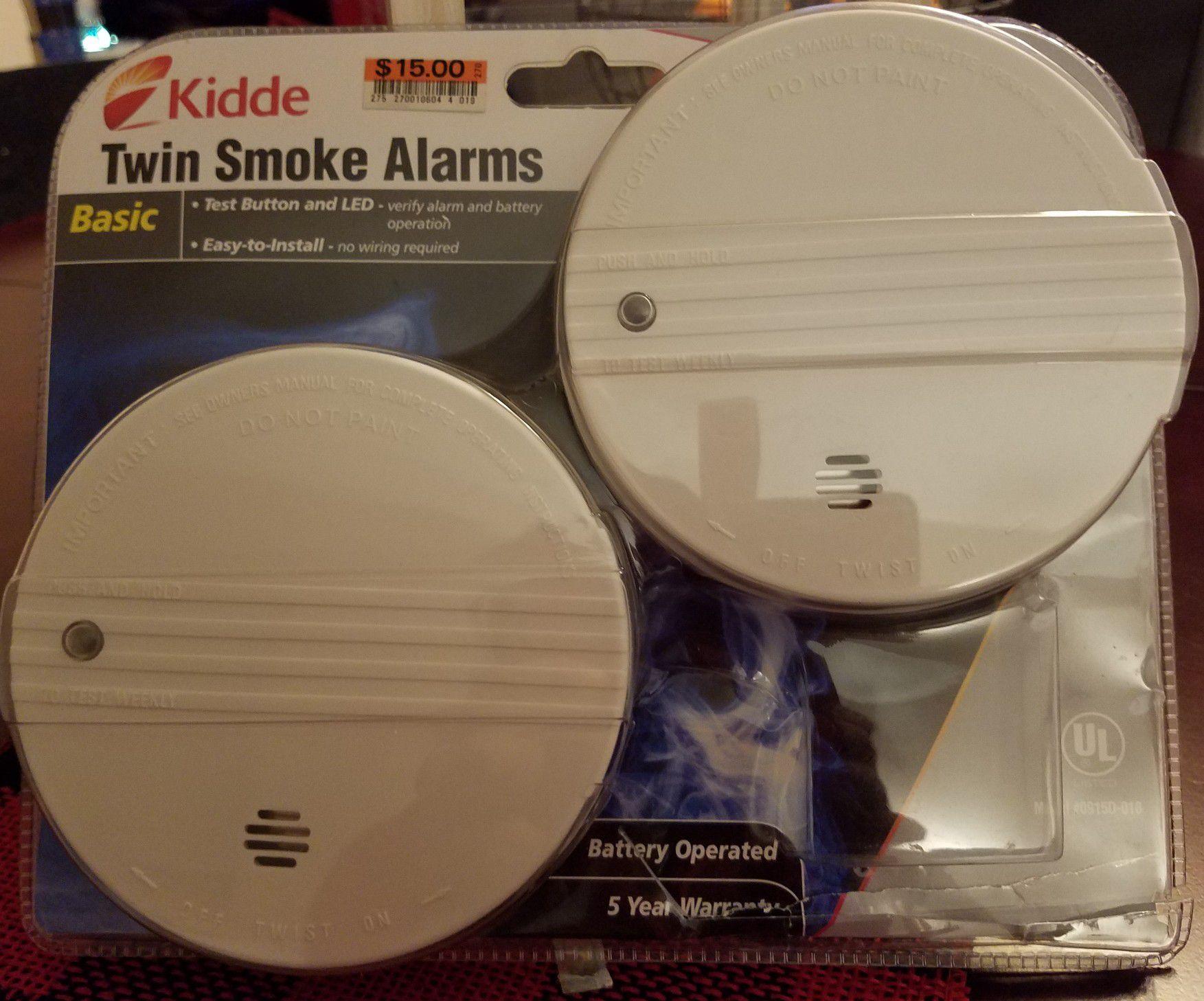Three Smoke Alarms