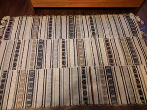 Anthropologie 100 per cent 4x6 Merino wool rug - gently used for Sale in Rockville, MD