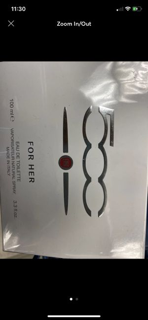Photo Brand new Fiat perfume