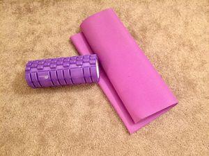 Yoga mat and foam roller for Sale in Denver, CO