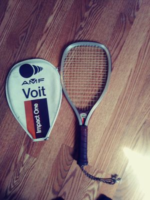 Vintage AMF Voit raquetball racket for Sale in St. Louis, MO