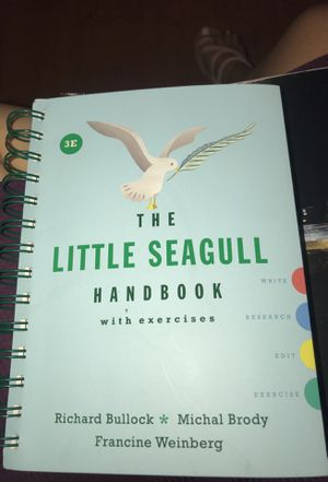 The little seagull handbook with exercises by Richard bullock for Sale in Dallas, TX