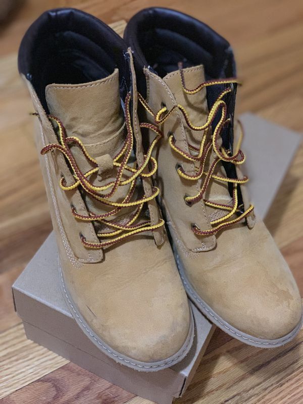 Women's wedge platform timberland boots for Sale in Brooklyn, NY OfferUp