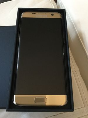 Gold, 32GB, Samsung Galaxy S7 Edge, New Condition, Factory Unlocked for Sale in Lake Ridge, VA
