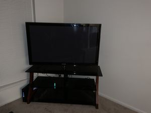 50 inch tv and stand for Sale in Frederick, MD