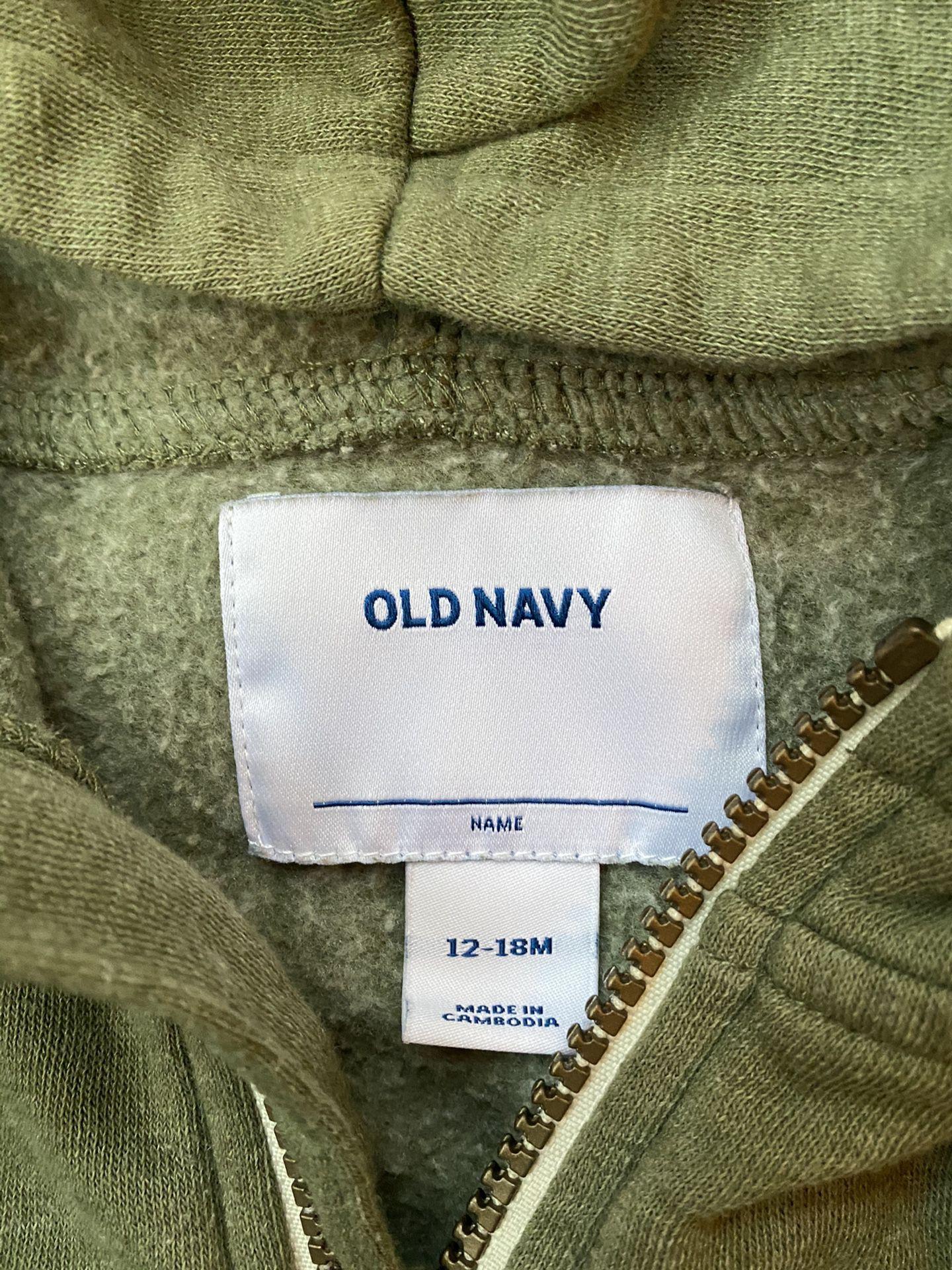Boy Old Navy Dinosaur hoodie