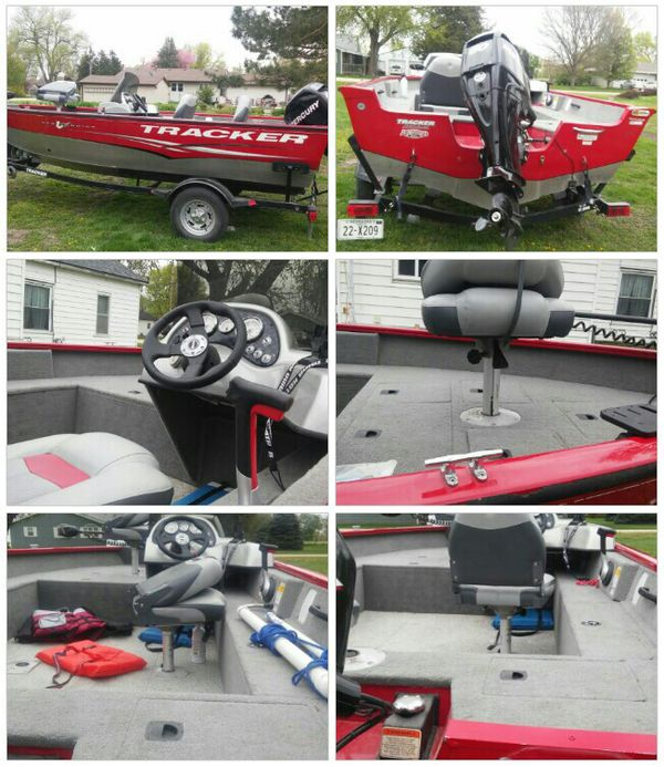 2012 tracker boat and trailer