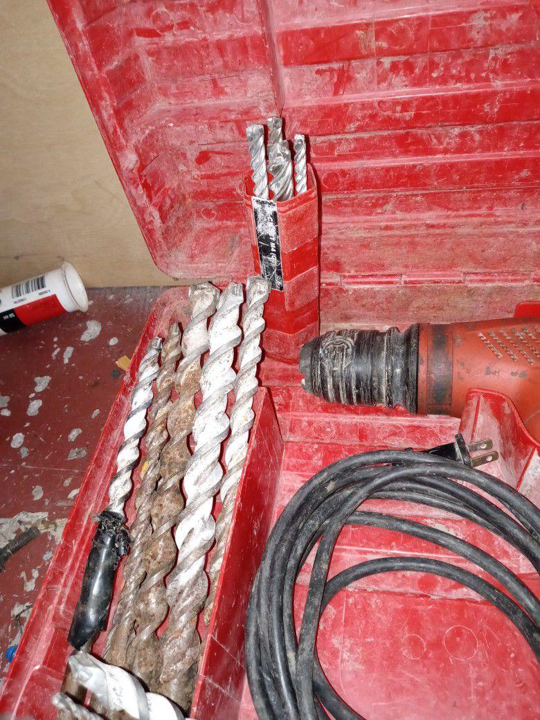 Hammer Drill W Bits