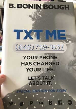 Txt me hardcover book for Sale in New York, NY