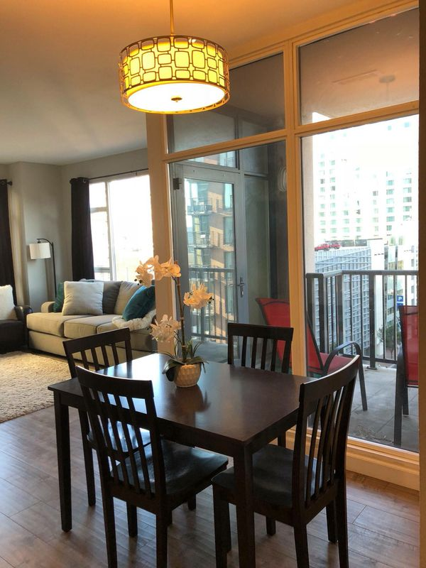 Living spaces dining table and 4 chairs for Sale in San Diego, CA ...