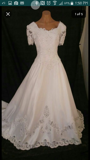 New Never Used Wedding Dress Size 14 For Sale In Tucson AZ