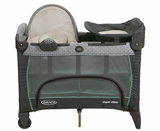 graco n dp amazon pack go the green on playard crib cribs play baby com
