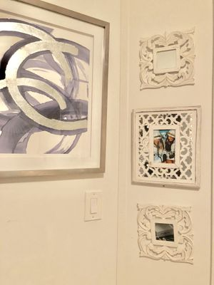 White Lattice Wall Décor for Sale in New York, NY