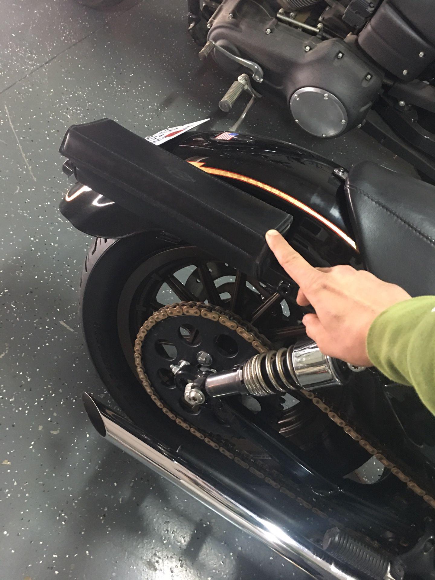 Harley-Davidson leather bag/case