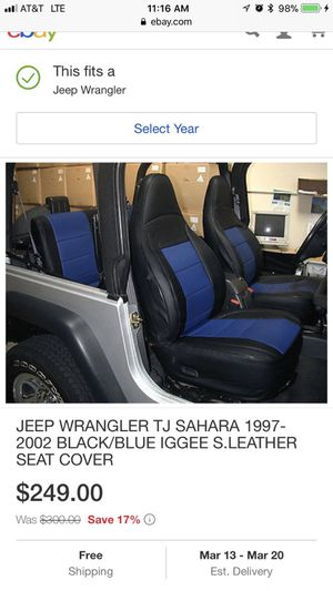 Brilliant Iggee Brand Seat Covers For Early Model Jeep Wrangler Tj For Lamtechconsult Wood Chair Design Ideas Lamtechconsultcom