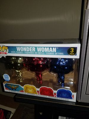 wonder women chrome funko pop for Sale in Kissimmee, FL