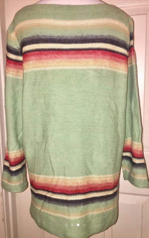 Ralph Lauren Navajo design sweater women's size large