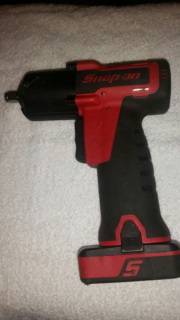 Snap-on 14 4v 3/8 drive microlithium cordless impact wrench for Sale in  Dallas, TX - OfferUp