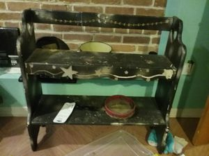 Black shelf for Sale in Baltimore, MD