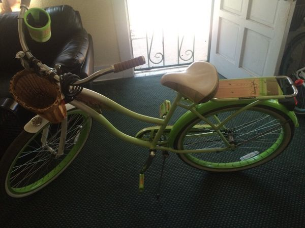8142f9bb42d Lime green beach cruiser panama jack Huffy for Sale in Los Angeles ...