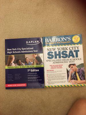 SHSAT workbooks(never use) 2 for $10 for Sale in Fairfax, VA
