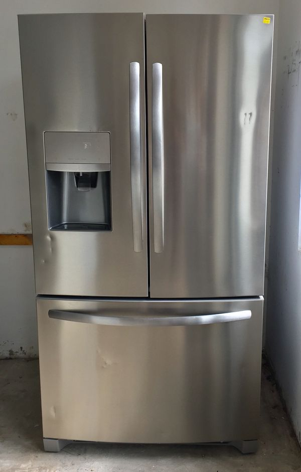 Stainless Steel Refrigerator French Doors Frigidaire For Sale In
