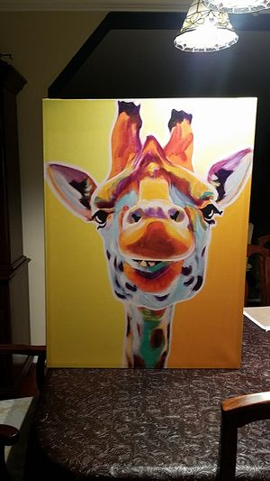 Giraffe canvas wall art for Sale in Springfield, VA