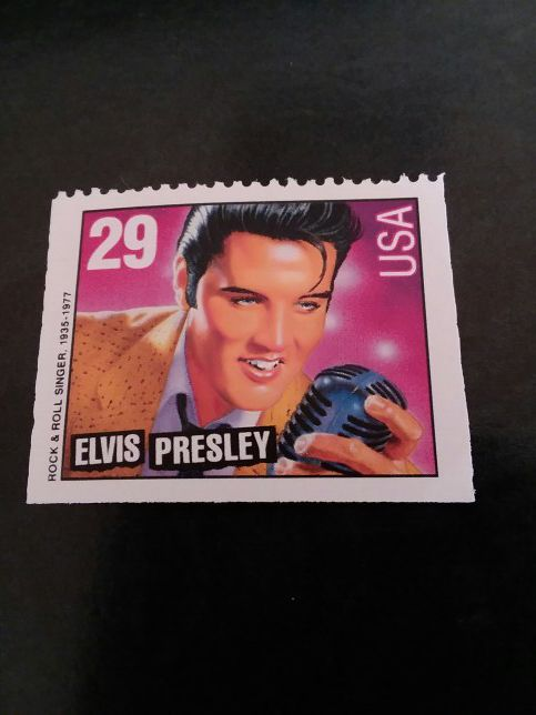 Elvis Presley US Postage Stamp